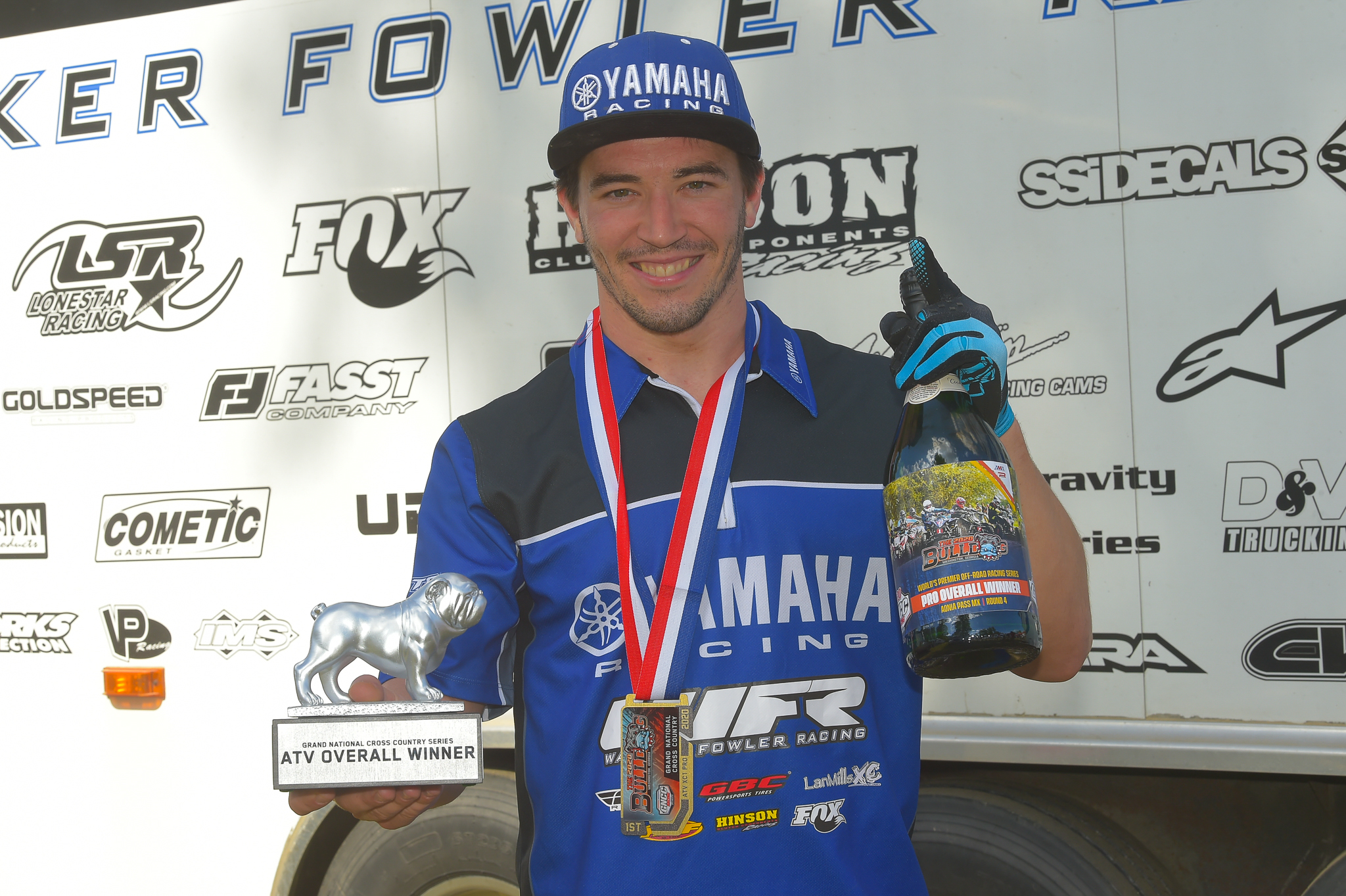 Walker Fowler, five-time GNCC XC1 Pro ATV champion, and current undefeated series leader (2)