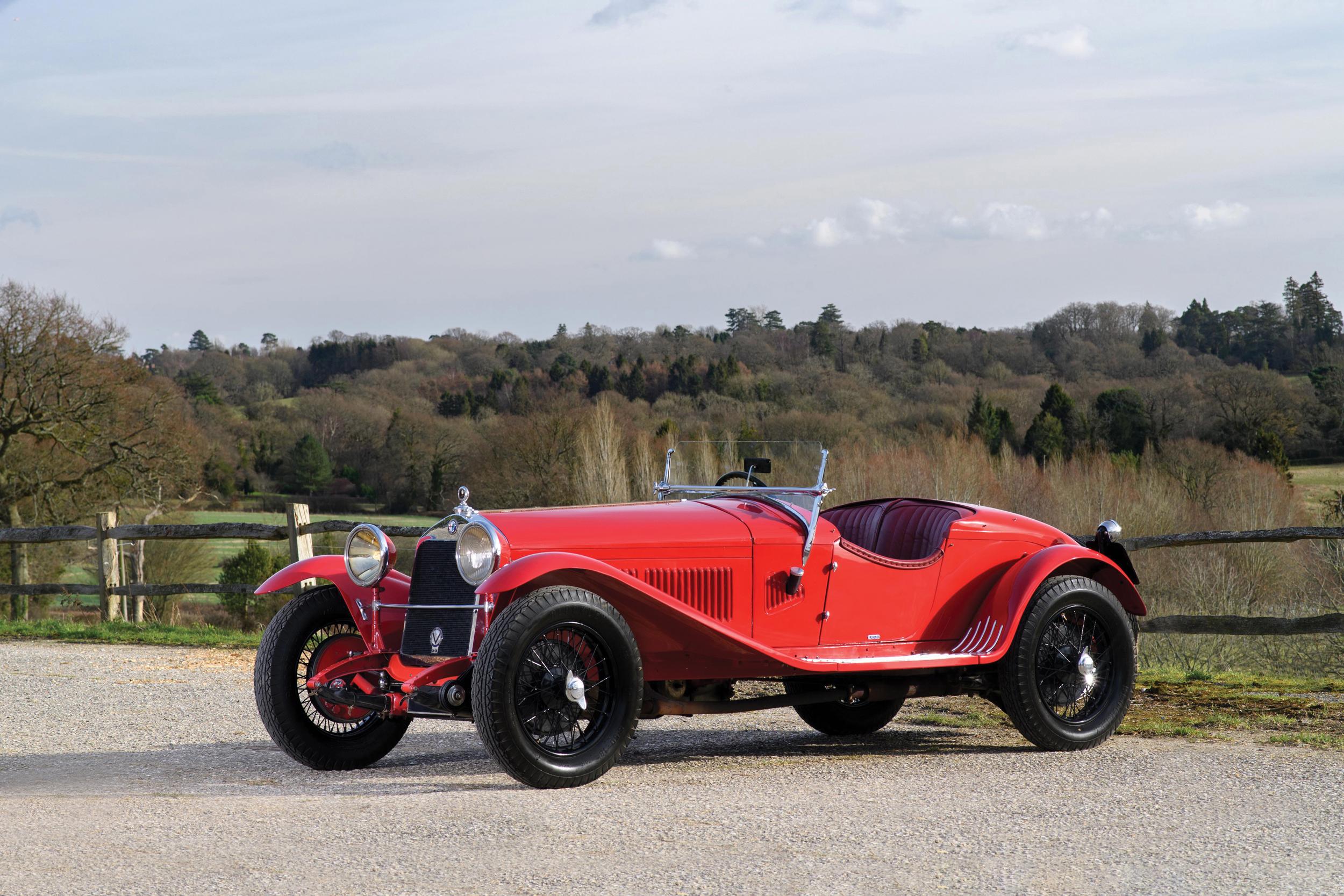 1930 Alfa Romeo 6C 1750 Gran Turismo Series IV Spider Tim Scott ©2020 Courtesy of RM Sotheby's