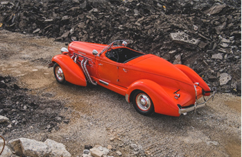 1935 Auburn Eight Supercharged Speedster (Credit – Darin Schnabel © 2020 Courtesy of RM Auctions)