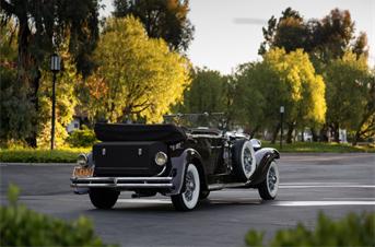 1936 Duesenberg Model J Tourster