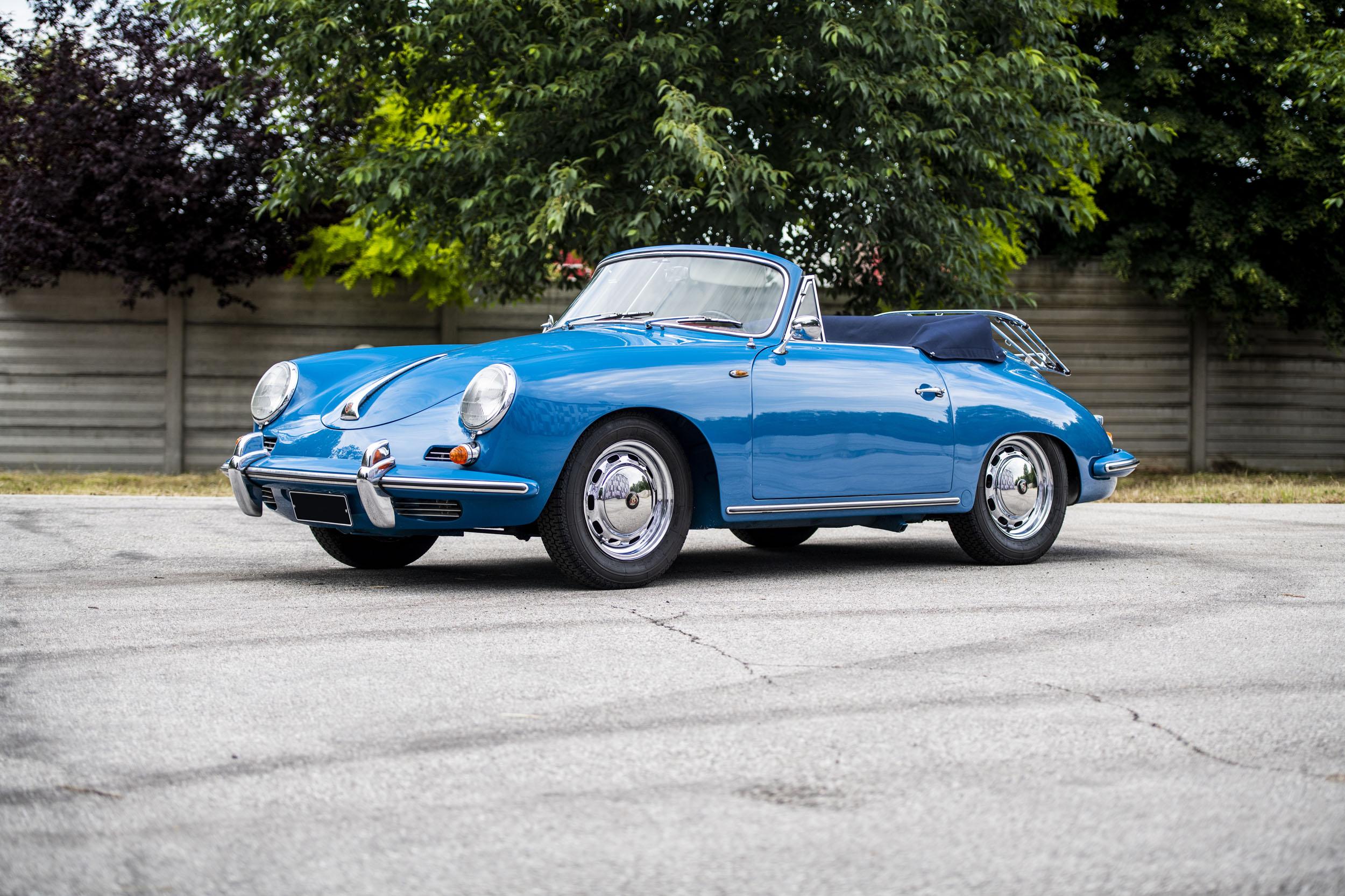 1960 Porsche 356 Super 90 Cabriolet (Credit – Remi Dargegen ©2020 Courtesy of RM Sotheby's) (4)