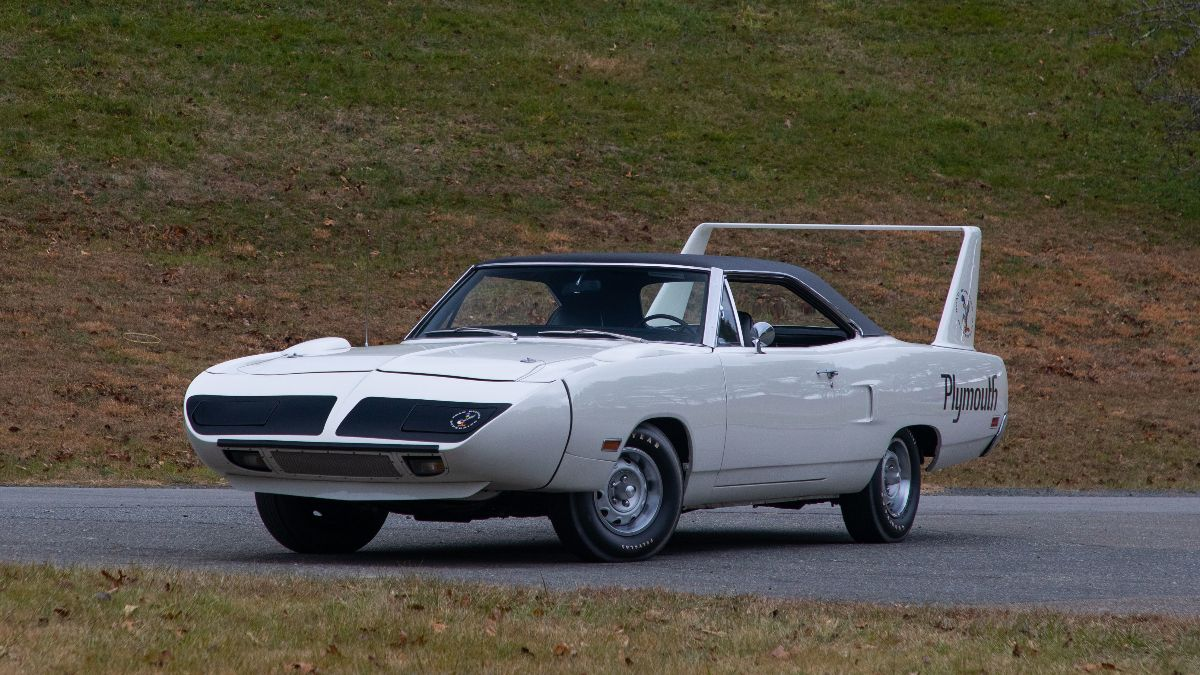 1970 Plymouth Superbird 440:375 HP, 4-Speed, Broadcast Sheet (Lot V25) (1)