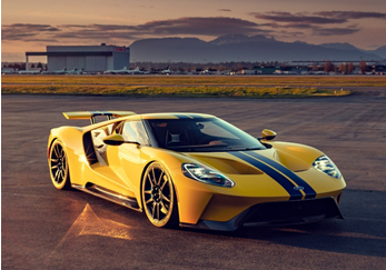 2017 Ford GT (Credit – Kevin Uy © 2020 Courtesy of RM Sotheby's)