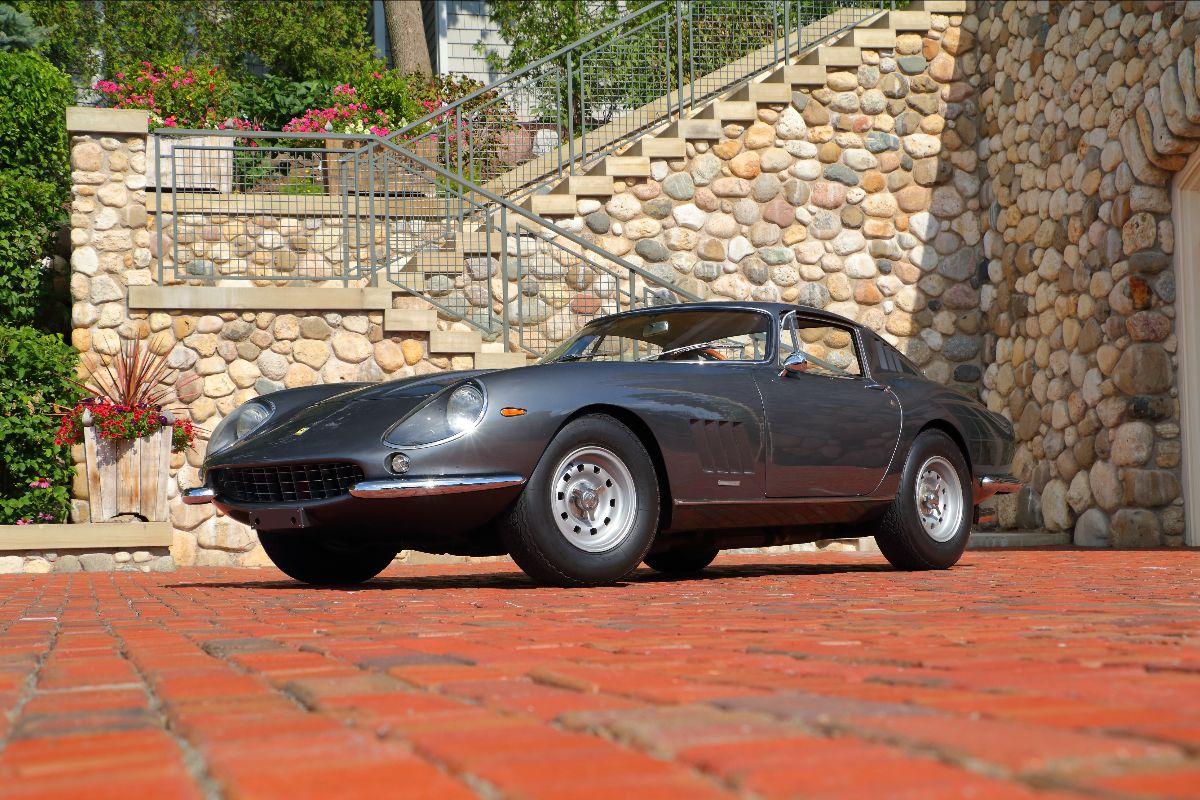 1967 Ferrari 275 GTB:4 Berlinetta S:N 10717, Ferrari Classiche Certification Red Book