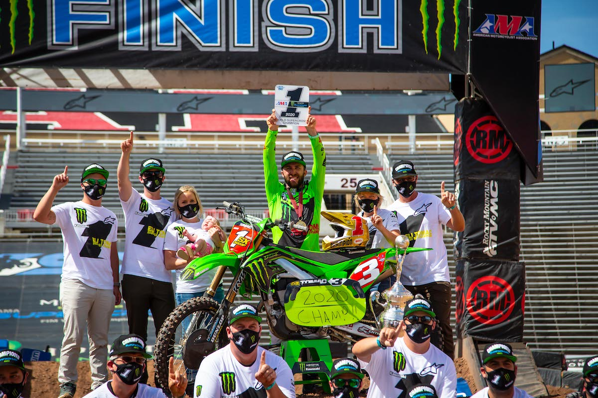 200623 Eli Tomac and Monster Energy Kawasaki will carry the momentum of a supercross title