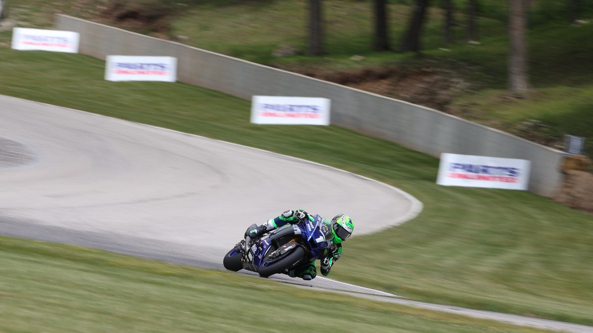200627 Monster Energy Attack Performance Yamaha's Cameron Beaubier dominated Friday at Road America 2