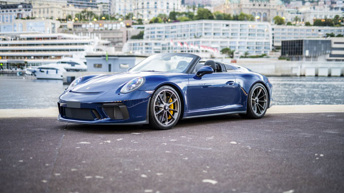 2019 Porsche 911 Speedster (Credit – Remi Dargegen ©2020 Courtesy of RM Sotheby's) (678)