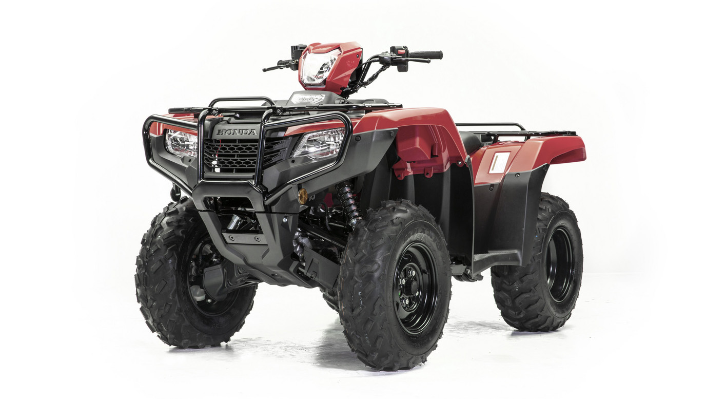 2021 Honda FourTrax Foreman Red