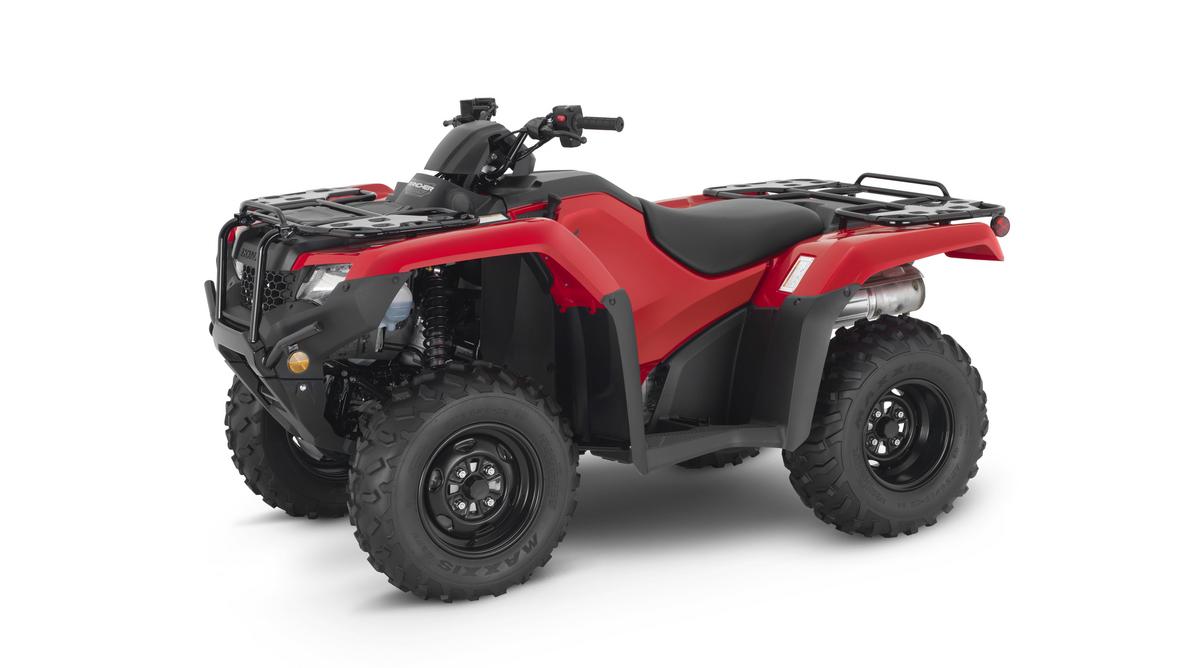 2021 Honda FourTrax Rancher 4x4 DCT EPS Red