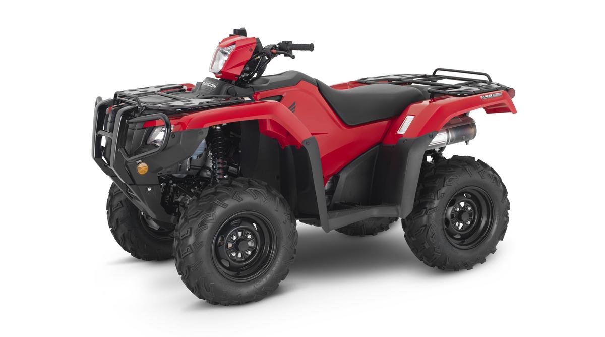 2021 Honda FourTrax Rubicon 4x4 EPS Red