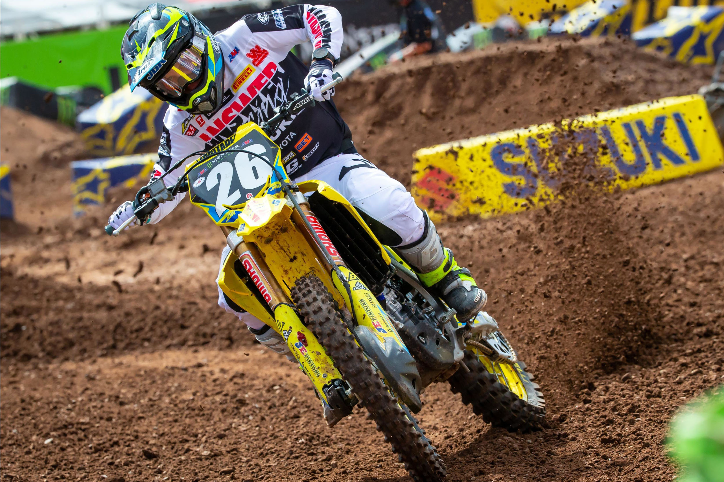 Alex Martin (#26) charged to sixth in the 250 West Championship points standings