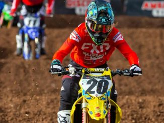 Broc Tickle (#20) finishes season strong on his Suzuki RM-Z450 (678)