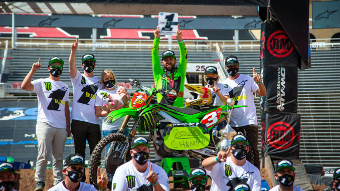 Eli Tomac Wins Monster Energy Supercross Championship (678)