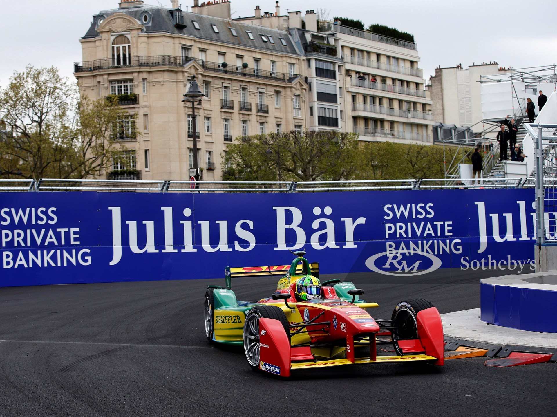 Julius Baer is offering an outstanding Formula E VIP hospitality experience