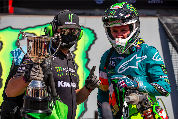Monster Energy Kawasaki - Eli Tomac - win - round 11 (1)