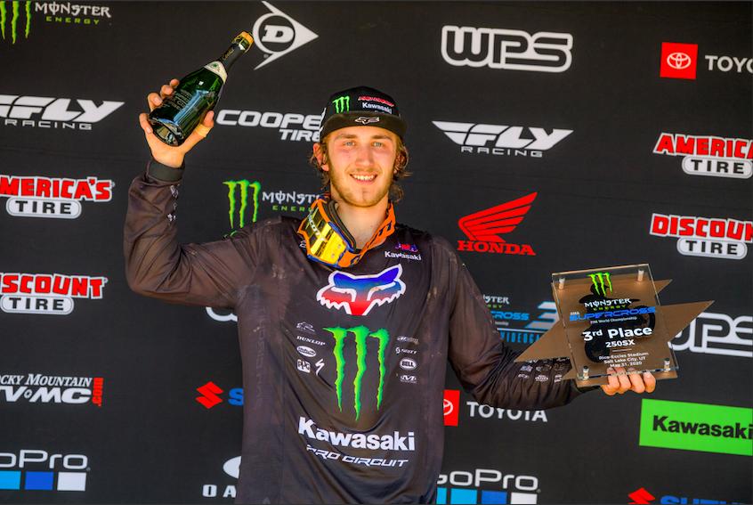 Monster Energy:Pro Circuit:Kawasaki rider Garrett Marchbanks - round 11 (1)