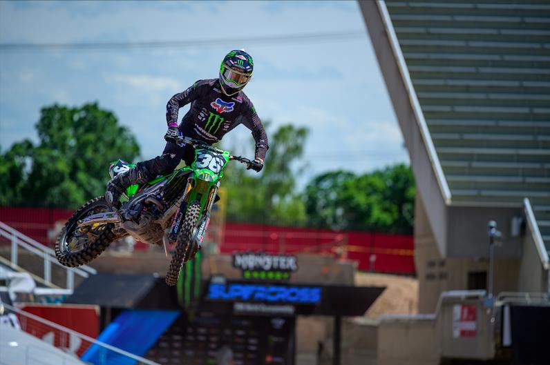 Monster Energy:Pro Circuit:Kawasaki rider Garrett Marchbanks - round 11 (2)