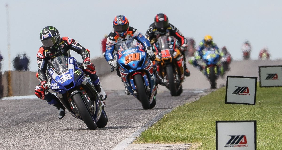 MotoAmerica received record viewership for its opening round of the 2020 MotoAmerica Series at Road America. Photo by Brian J. Nelson
