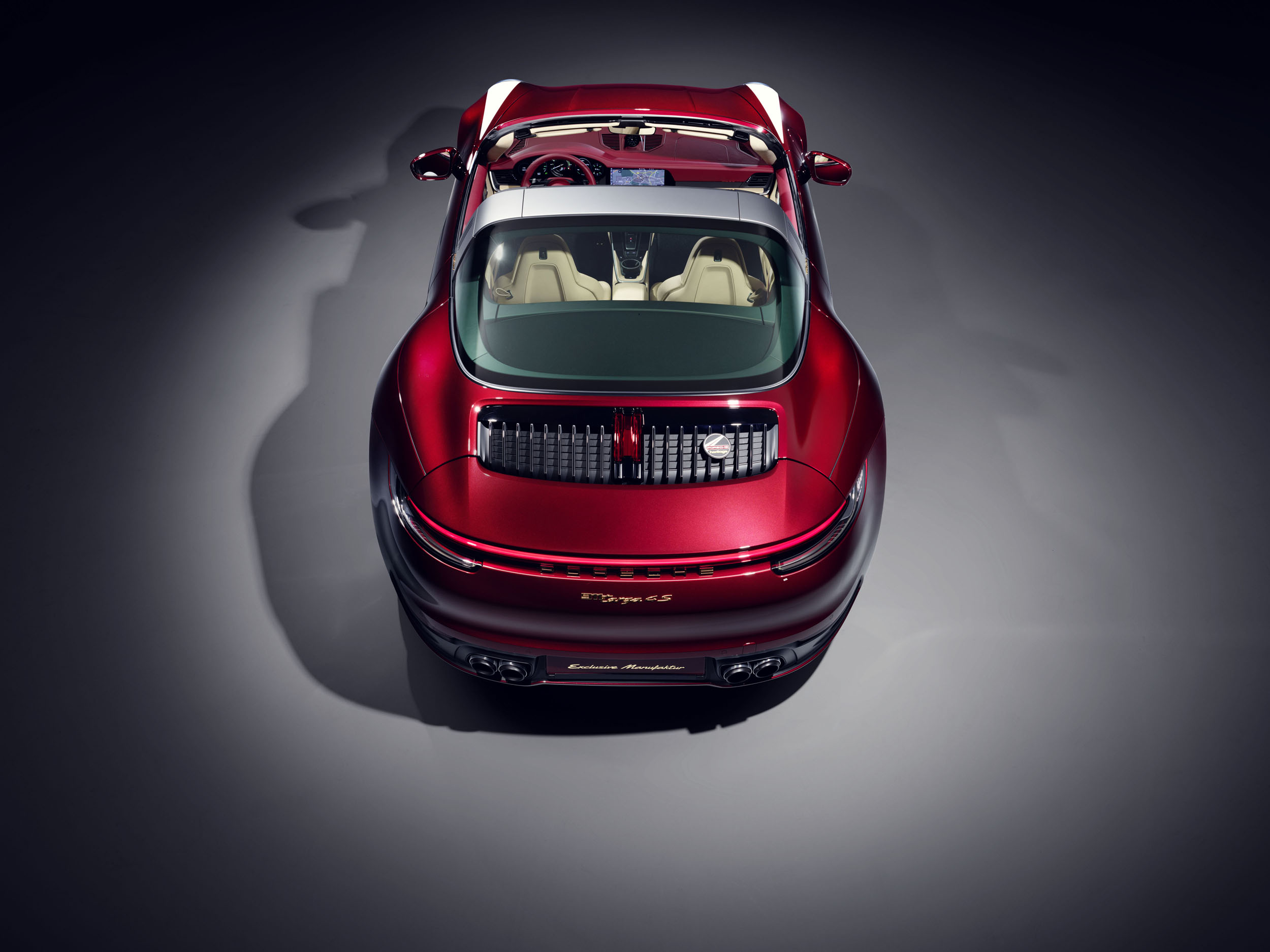 Porsche 911 Targa 4S Heritage Design Edition, rear