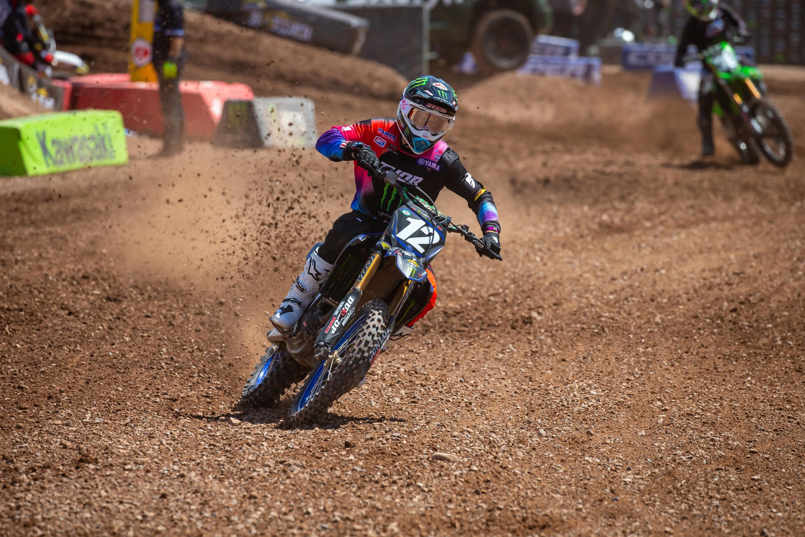 Shane McElrath earned his second 250SX Class win of the year - 250SX Round 11
