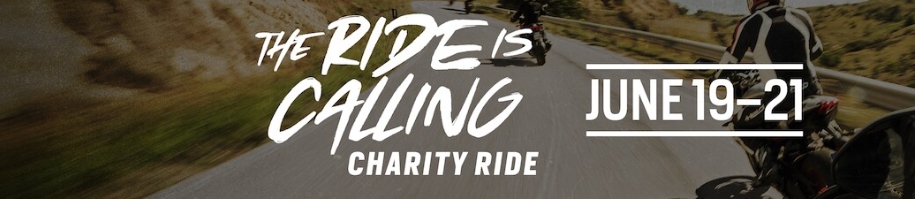 The Ride is Calling banner