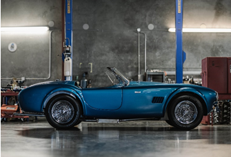 1965 Shelby 289 Cobra '8000 Series' (Credit – ©2020 Courtesy of RM Sotheby's)