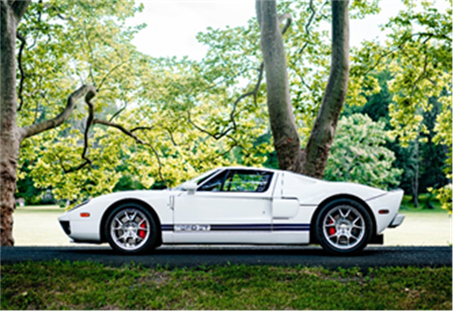 2005 Ford GT (Credit – ©2020 Courtesy of RM Sotheby's)