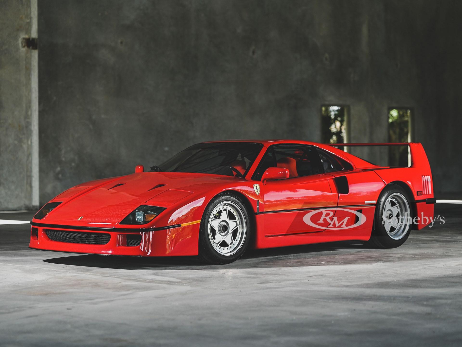 200701 1991 Ferrari F40 (Credit – Jasen Delgado ©2020 Courtesy of RM Sotheby's) (1)