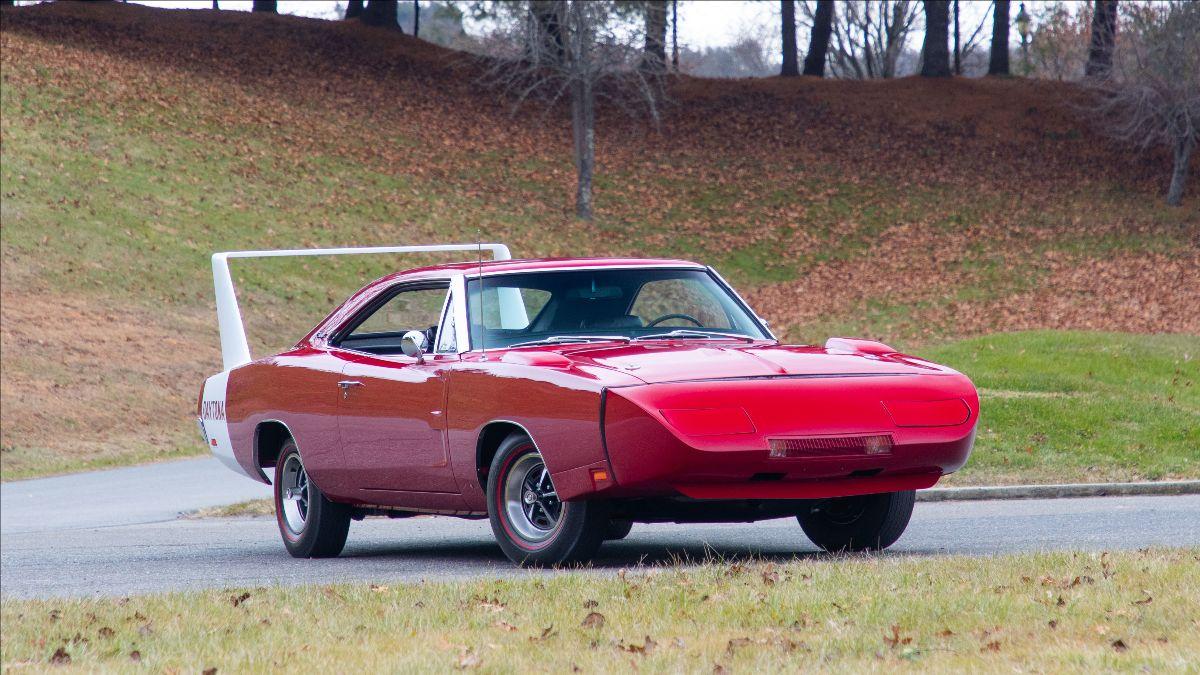 200708 Mecum Auctions - 1969 Dodge Daytona (Lot V24) sold at $231,000