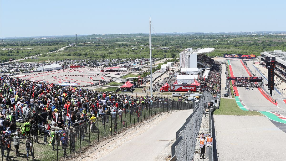 200708 MotoAmerica and MotoGP won't be racing at the Circuit of The Americas in 2020.
