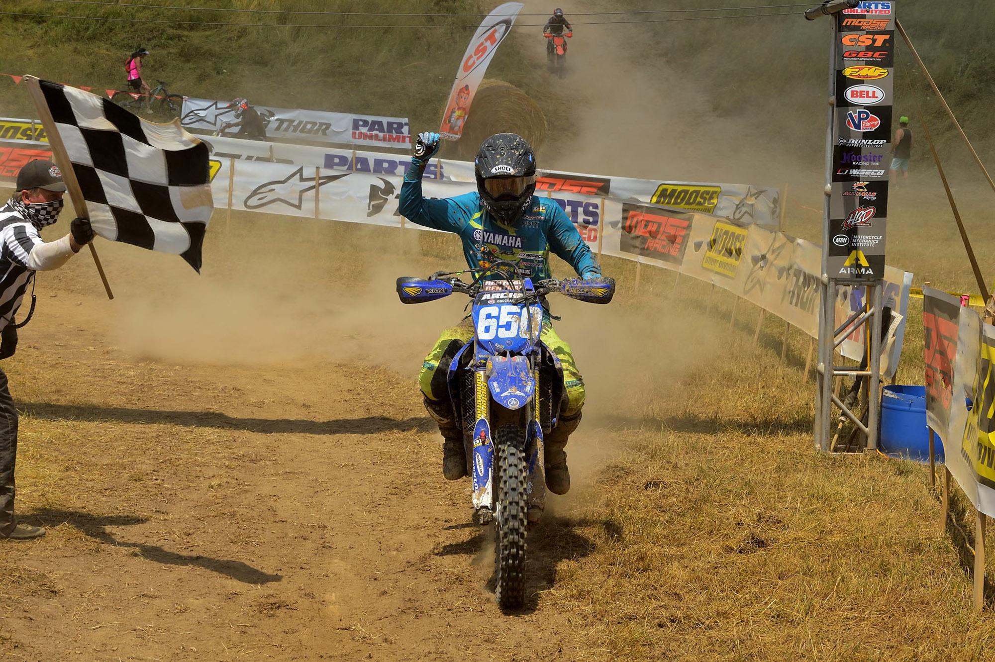 200723 AmPro Yamaha race team's Rachael Archer