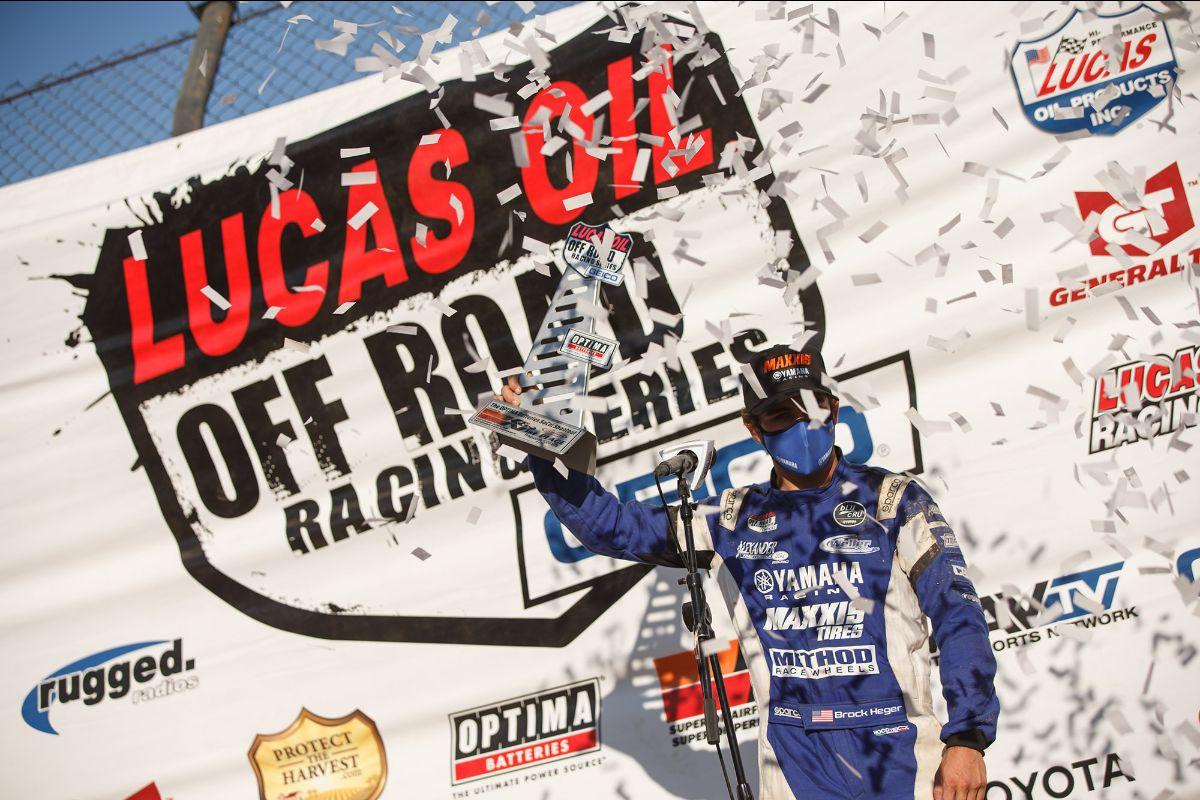 200729 Brock Heger captured the Sunday win in Production 1000 UTV
