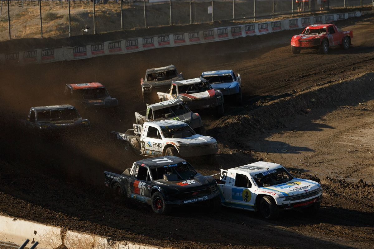 200729 The premier Pro 2 class highlighted the opening round of the 2020 Lucas Oil Off Road Racing Series from Glen Helen Raceway