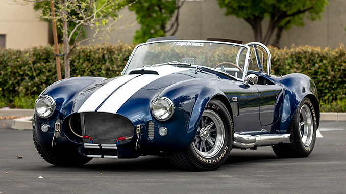 Cobra Experience to Raffle 427 Cobra From FORD v FERRARI Film on Aug 1st – Entries Open (678)