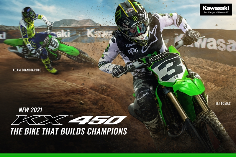 Kawasaki Team Green™ Releases 2021 Racer Rewards Program Along with the New and Improved KX™ Lineup (3)