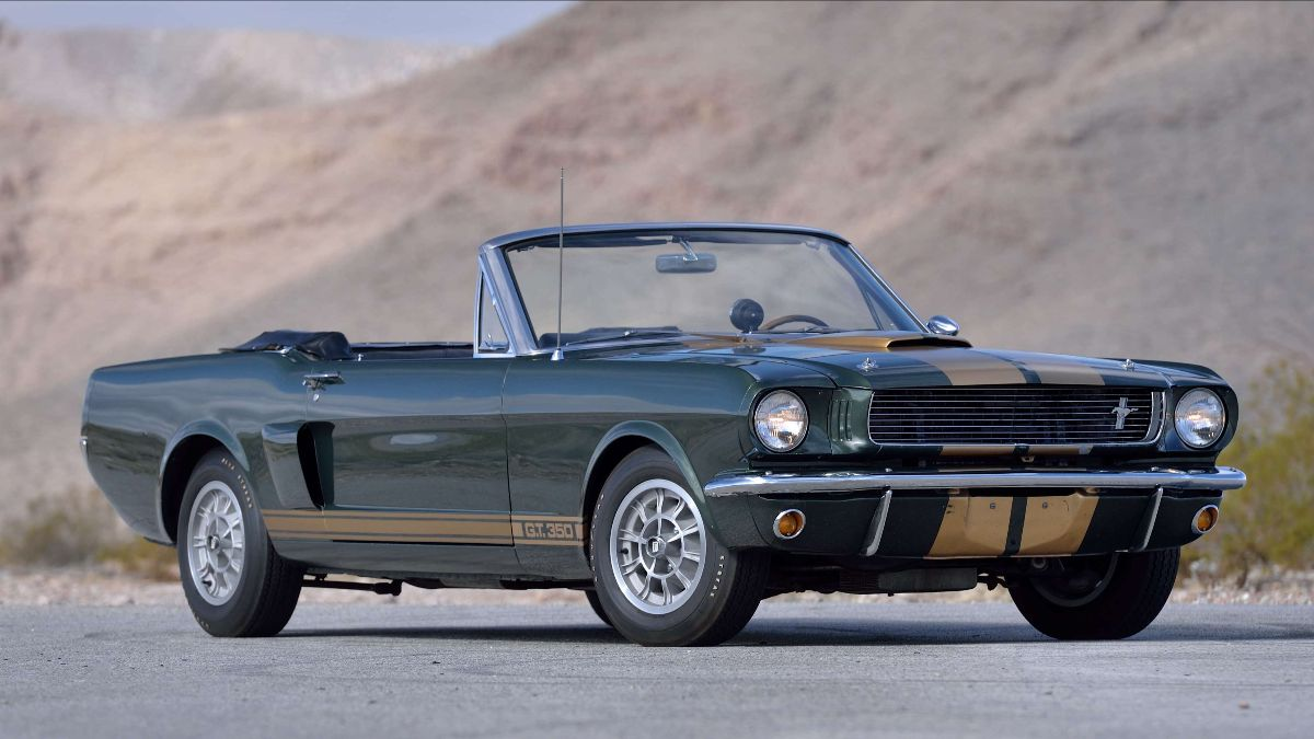 Mecum Auctions - Indy - 1966 Shelby GT350 Convertible 6S2375 (Lot F145) sold at $1,100,000