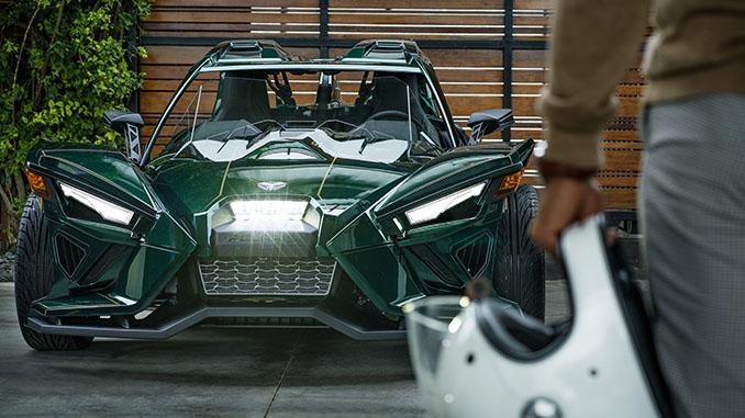 Polaris Slingshot Announces New Grand Touring LE with AutoDrive Transmission (678)