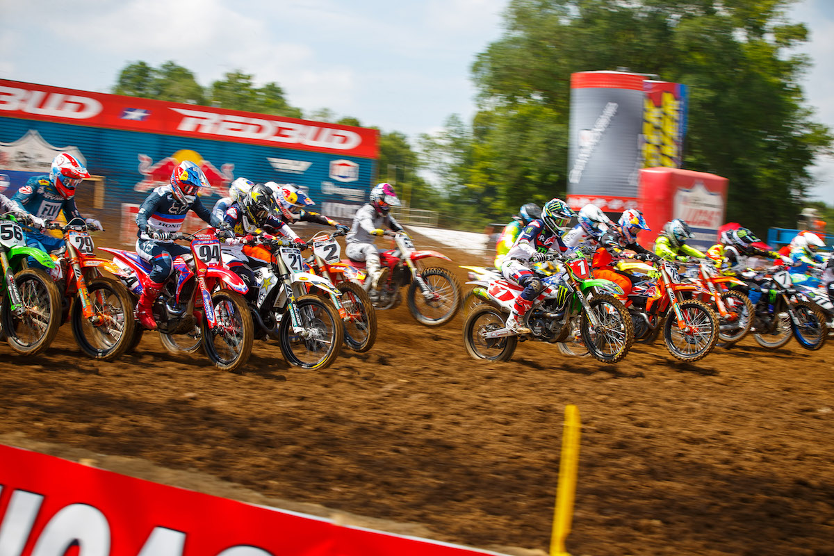 "RedBud MX will host the first ever ""doubleheader"" in Pro Motocross history over the Labor Day holiday"