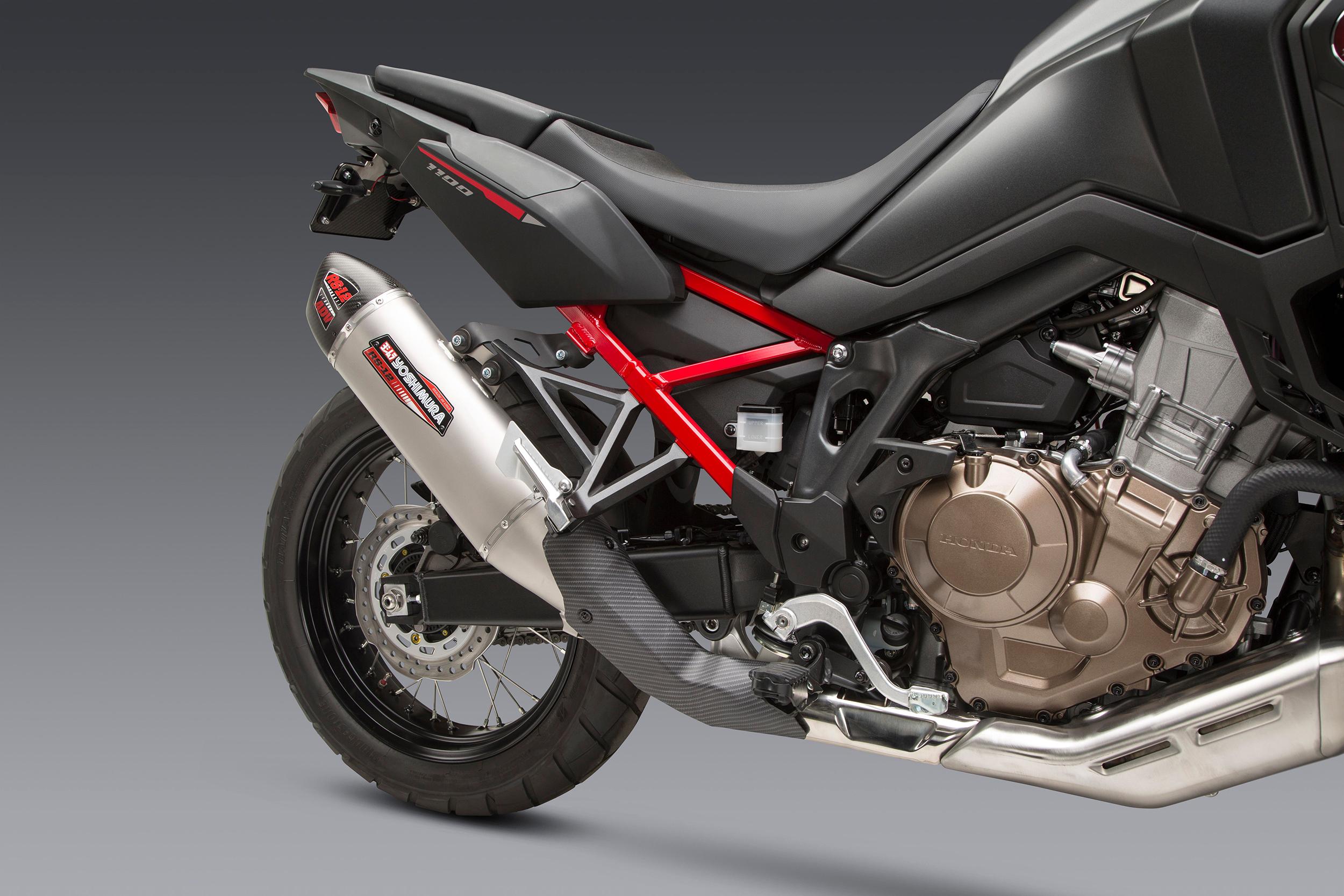 Yoshimura Introduces 2020 Honda Africa Twin RS-12 Exhaust (2)