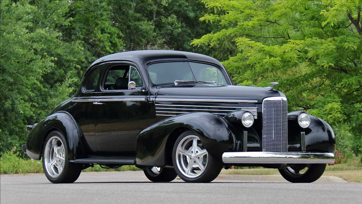 1938 LaSalle Coupe Street Rod 500 CI, Automatic (Lot S100) Mecum Auctions Kissimmee Summer Special