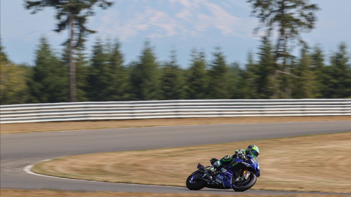 Cameron Beaubier was the fastest of the HONOS Superbike testers at the Ridge Motorsports Park