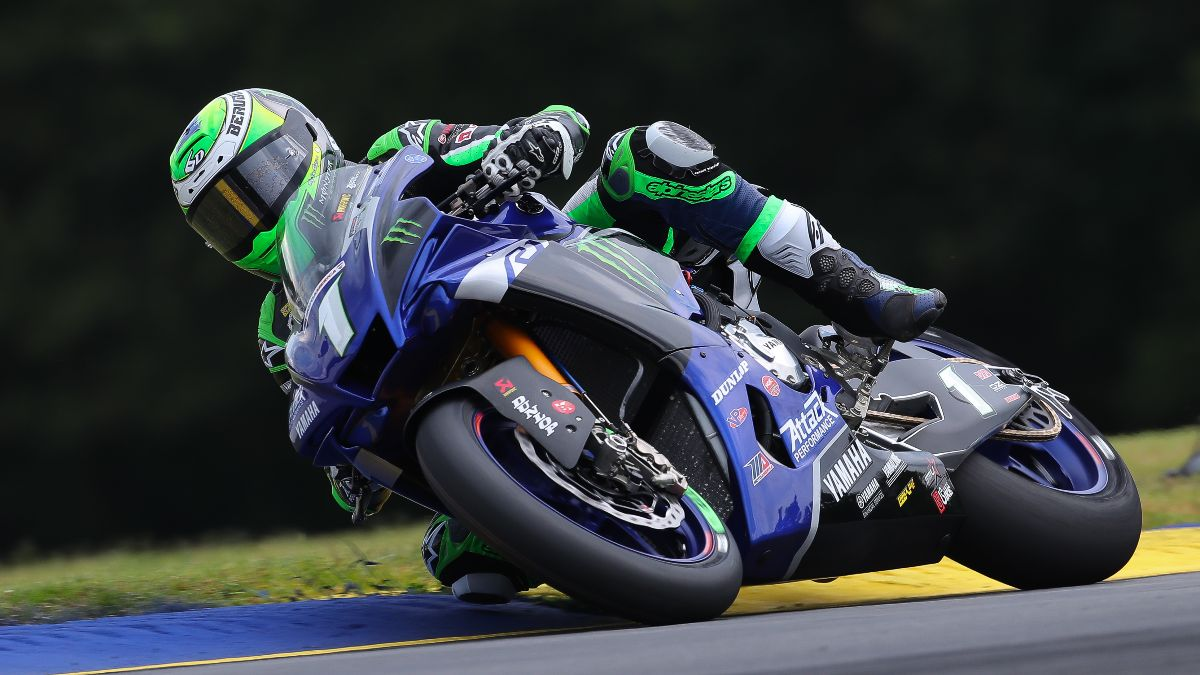 Monster Energy Attack Performance Yamaha's Cameron Beaubier