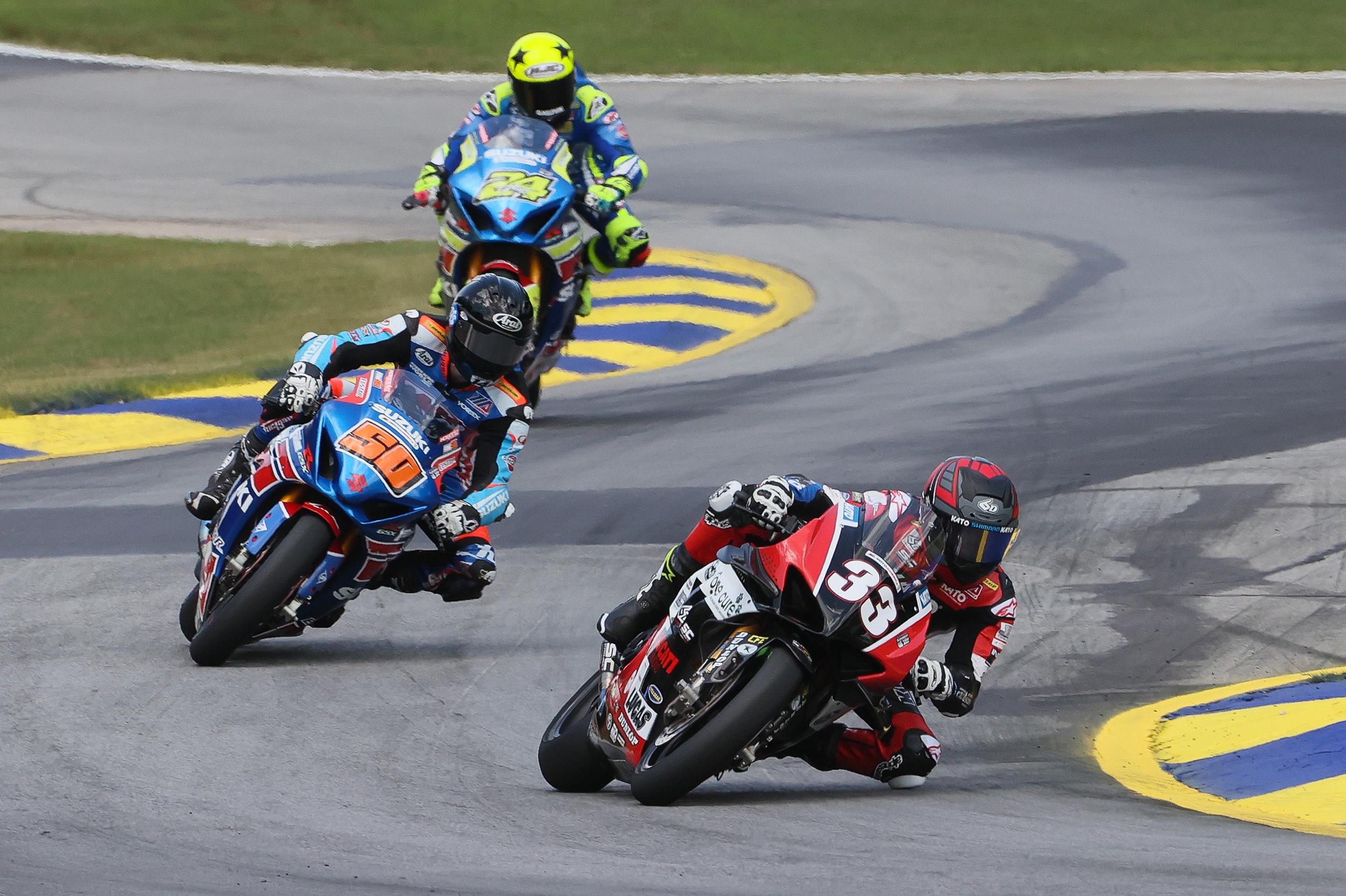200803 MotoAmerica - Kyle Wyman - #33 - Road Atlanta (2)