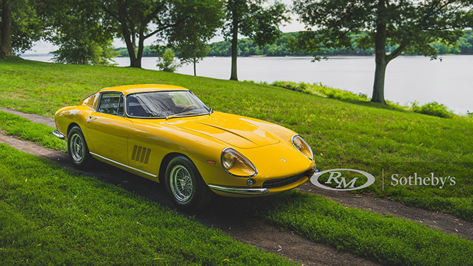 200806 1967 Ferrari 275 GTB 4 by Scaglietti (Credit – Darin Schnabel ©2020 Courtesy of RM Sotheby's)(678)
