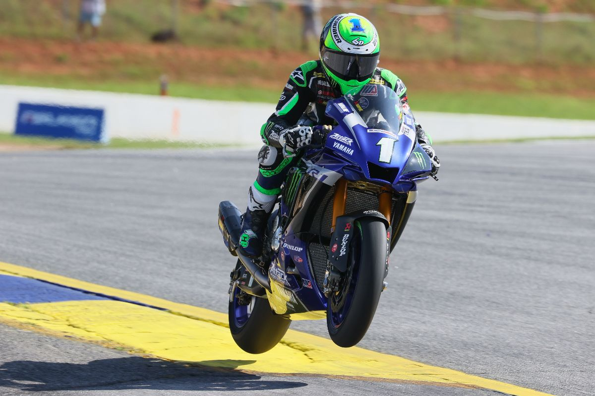 200806 Cameron Beaubier is flying high thus far in 2020 with wins in five of the six HONOS Superbike races
