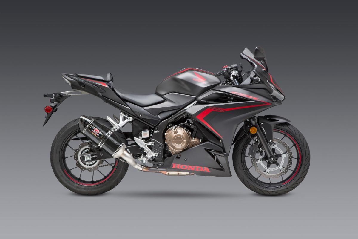 200814 Yoshimura Introduces Honda CBR500R R-77 Slip-on (1)