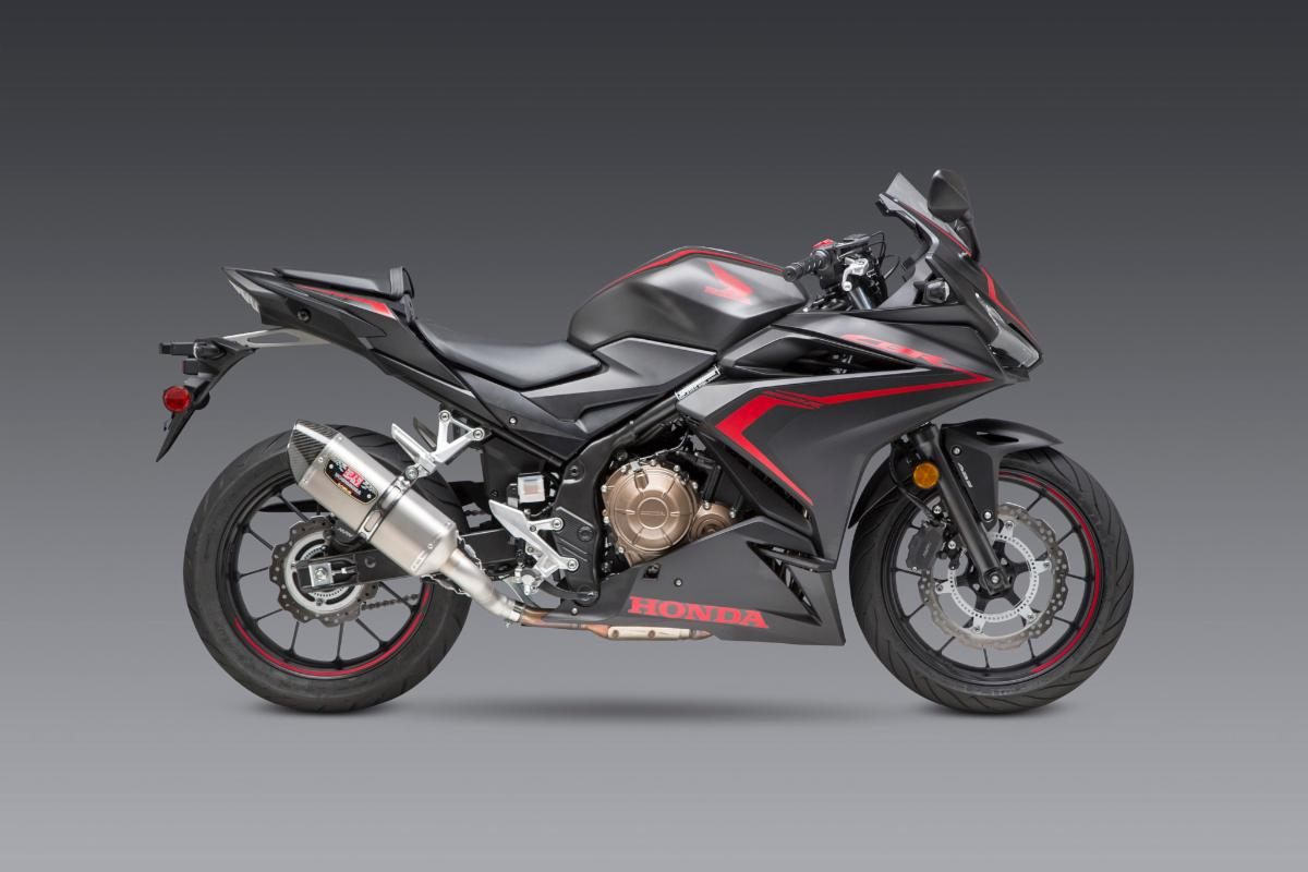 200814 Yoshimura Introduces Honda CBR500R R-77 Slip-on (2)