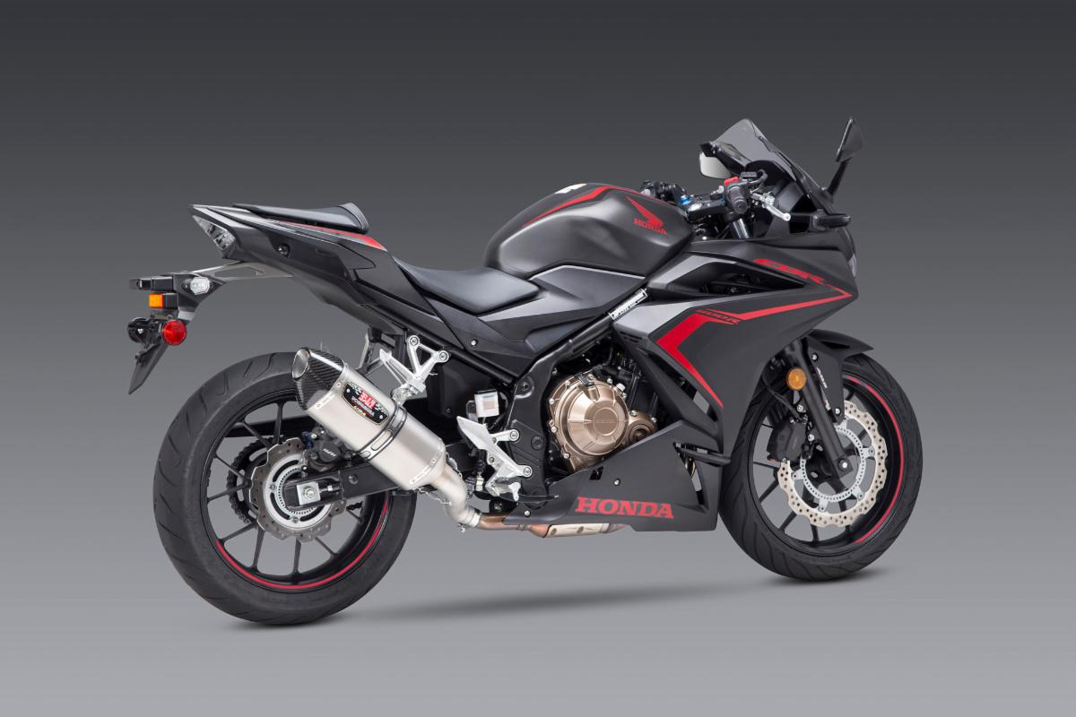 200814 Yoshimura Introduces Honda CBR500R R-77 Slip-on (3)