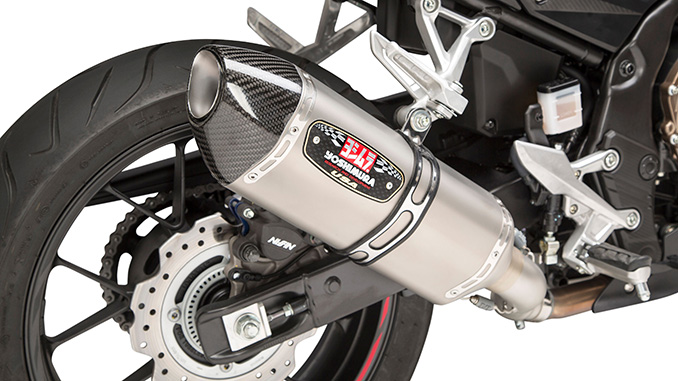 200814 Yoshimura Introduces Honda CBR500R R-77 Slip-on (678)