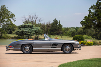 200815 1960 Mercedes-Benz 300 SL Roadster (Credit — ©2020 Courtesy of RM Sotheby's)